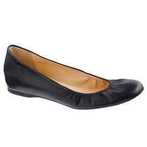 J.crew Cece Ballet Flats Italian Leather